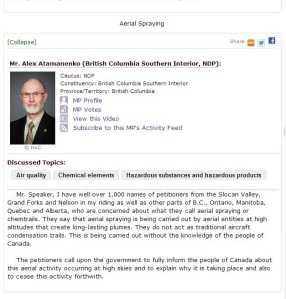 Mr. Alex Atamanenko British Columbia Southern Interior, NDP
