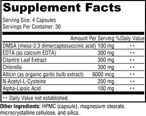 Health Masters CheleX 120c~Chelation Therapy~CHEL~BROET~3x7~p
